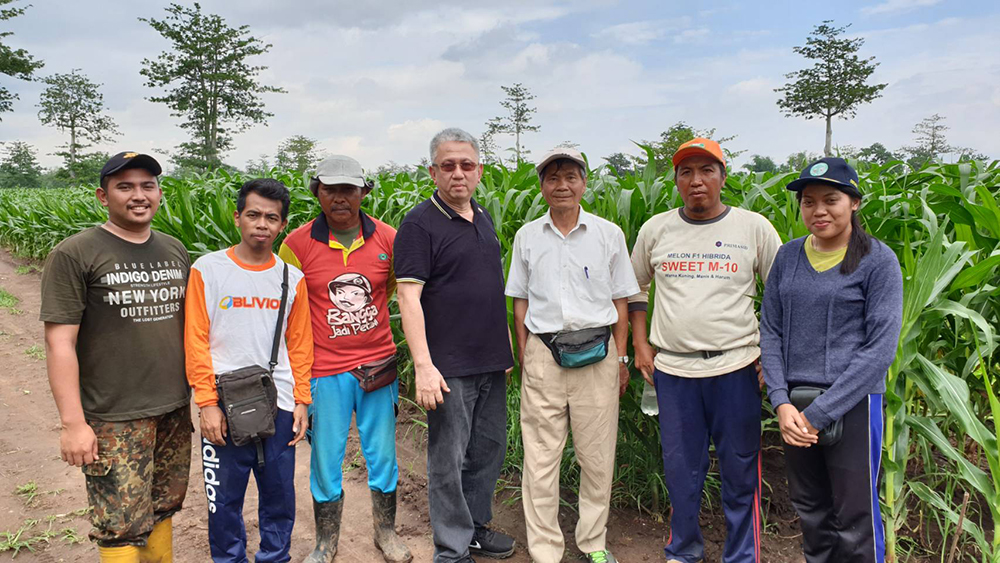 NCHU Professor Yuh-ming Huang as Agricultural Consultant to Indonesia International Member, ETOS AGRO