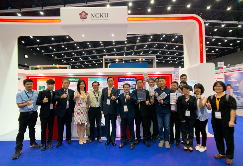 The Innovation of Medical & Healthcare Technologies from NCKU Caught Visitors Attention in Medical Fair Thailand 2019