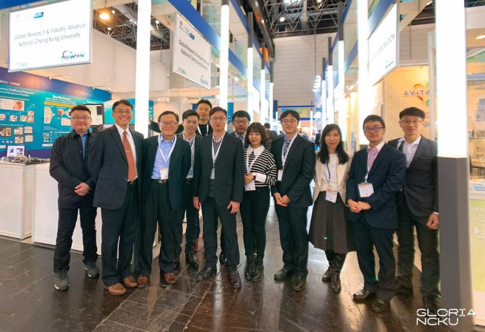 Startups from GLORIA NCKU demonstrated speedy dengue fever detection technology in MEDICA 2019