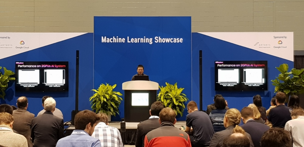 AIExplore Super-Fast AI Platform is announced on 2018 RSNA Machine Learning Highlights of the Showcase Theater